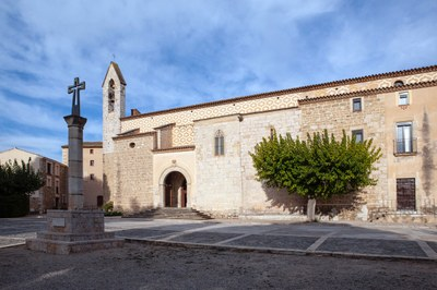 The convent and sanctuary de la Serra