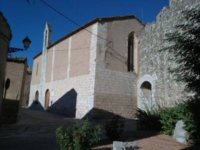 The old church of Sant Marçal